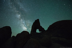 Lady Boot Milky Way (Eric Hines Photography) Tags: landscape stars milkyway astrophotography nikond810 arch desert alabamahills nature california night nightsky easternsierras