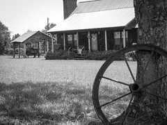 Old Style Cottage (Kradzak) Tags: old blackandwhite white house black classic beauty cottage