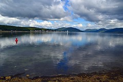 (Zak355) Tags: reflections scotland scottish bute rothesay isleofbute