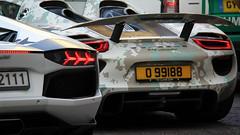 Porsche 918 Spyder, Lamborghini Aventador LP700-4 (Dorka Bus) Tags: budapest spyder porsche lp 700 3000 lamborghini gumball 918 gumbal gumball3000 aventador lp700