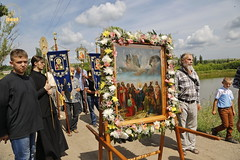 A cross procession from the village of Nikolskoe to the village of Adamovka / Крестный ход из Никольского в Адамовку (40)