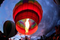 Hot Air in Tigard 2016 (Mstraite) Tags: hot color night oregon canon dark hotair balloon