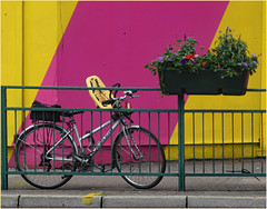 Abstract Bike (donbyatt) Tags: streetart bike walls eastlondon urbanwalls