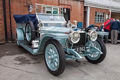 Brooklands Double Twelve 2016 - 1908 Rolls-Royce Silver Ghost (R 562) (growler2ndrow) Tags: brooklands brooklandsmuseum doubletwelve cars autos classic worldcars