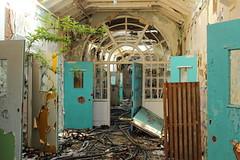 whittingham 2013 (scrappy nw) Tags: abandoned asylum scrappy scrappynw derelict decay forgotten canon600d canon lancashire preston hospital urbex ue urbanexploration urbanexploring rotten corridor oldwhittigham