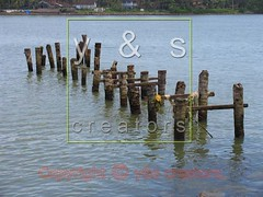A Broken wooden Landing stage (bridge) for Ferryboats (yogesh s more) Tags: wood bridge india abstract color colour broken water wooden asia stage traditional kerala bamboo landing cochin woodenbridge kochi ernakulam ferryboats payacom