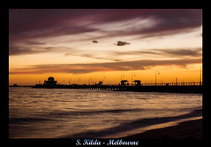 Just the best year of my life (Nuxis [Davide]) Tags: sunset sea pier sony australia melbourne victoria stkilda stkildapier a550 skilda alpha550