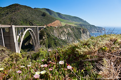 Cabrillo Highway (Simon Greig (xrrr)) Tags: ocean california bridge sea nature landscape coast us pacific outdoor nobody route1 cabrillohighway