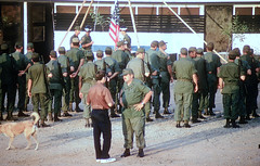 Ceasefire ceremony - Gary Nelson - Doc McCaan (Gene Whitmer) Tags: compound january nelson 1973 dt seabees mytho ceasefire seabeecompound