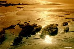Lever du soleil à marée basse (didier95) Tags: mer sable bretagne plage leverdesoleil mareebasse