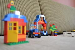 Lego (Ricardo Tonet) Tags: tractor cores toy nikon brinquedo lego criana arvore trator fazenda nikond3100