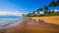 Wailea Beach, Maui (RMann88) Tags: ocean beach water landscape hawaii sand maui 918mm olympusomdem5