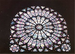 Notre Dame de Paris (sftrajan) Tags: paris france frankreich cathedral unesco notredame 1993 francia middleages stainedglasswindow notredamedeparis parigi ledelacit