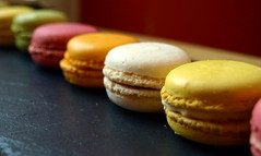 Mini Macaroons in a row (Tony Worrall Foto) Tags: food english colors beautiful cake recipe fun nice sweet shapes shell tasty eaten eat biscuits treat taste colourful bake grub baked foodie flavour macaroons minimacaroons 2013tonyworrall