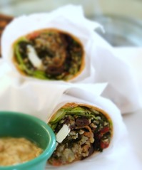 IMG_2033 (Vegan Feast Catering) Tags: greek vegan wrap surprise