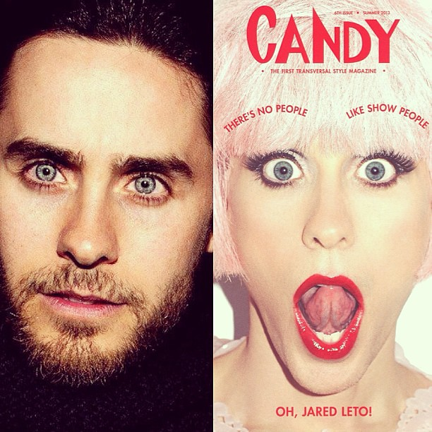 Jared Leto is smokin hot on the cover of Candy magazine. Even in drag this guy looks amazing!