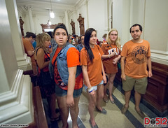 SB5 (Abortion Bill) Protest at the Texas State...