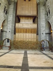 Woven Screen Chichester Cathedral (Mark and Rebecca Ford Art Sculpture) Tags: