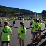 Dryland training at 2013 Super Camp in Whistler