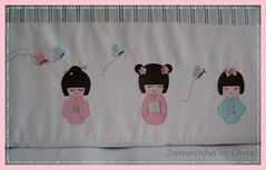 mariana 081 (Joanninha by Chris) Tags: de handmade bebe patch kokeshi tecidos aplicao enxoval feitoamo protetordebero