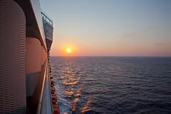 09 Jul. 2013. Mediterranean. Sunset to Stern (The UberSteve) Tags: sunsets cruiseship