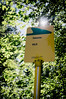 Bus stop (Fredrik Forsberg) Tags: sign canon sweden busstop värmland canonfd28mmf28 takene nex6
