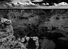 Mather Point (M. Cockrell) Tags: arizona bw landscape blackwhite grandcanyon matherpoint sonyslta58k