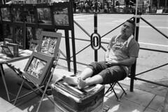 Manhattan - NYC (Fred Abrantes) Tags: street leica nyc film 35mm manhattan pb