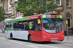 National Express West Midlands 2061 BX61XBG (Will Swain) Tags: uk england west bus buses birmingham britain 21st august national express midland midlands wolverhampton 2061 2013 bx61xbg
