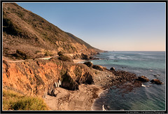 Hanging Boats (Emma White ( ... somewhere ... )) Tags: ocean california ca sea cliff usa seascape water landscape boats coast big nikon bigsur erosion edge sur coastline geology rugged d90 thewhiteview