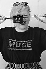 untitled (ingrid.marie) Tags: camera summer black lana fashion del vintage polaroid photography 50mm glasses blackwhite nikon 14 hipster dana style lips muse rey lipstick d3100