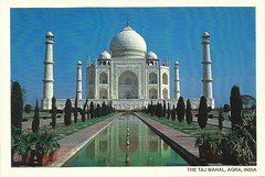 The Taj Mahal - Agra