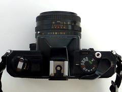 Fuji STX-2 (pho-Tony) Tags: slr film japan analog 35mm lens 50mm reflex fuji f16 single stx analogue 135 fujinon 116 ebc bayonet stx2 photosofcameras fujistx2 xfujinon fujiphotofilmjapan
