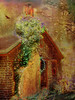 ..my chimney.. (xandram) Tags: chimney photoshop ivy manipulation textures myhouse blooming