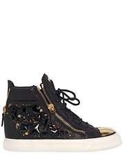 GIUSEPPE ZANOTTI  20MM STUDS & LEATHER HIGH TOP SNEAKERS (zavertiose) Tags: winter fall leather high women shoes top sneakers 20mm studs giuseppe zanotti 2013 giuseppezanotti20mmstudsleatherhightopsneakersfallwinter2013womenshoessneakers