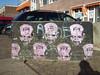 heads (aestheticsofcrisis) Tags: street urban streetart holland art netherlands amsterdam graffiti stencil europe nederland urbanart intervention pressone pochoir schablone guerillaart ndsmwerf ndsmwharf ndns