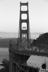 Golden Gate in B&W (Riven Imagery) Tags: ocean california city bridge 3 water beautiful car architecture photography drive golden bay amazing twilight highway gate san francisco pretty mark walk gorgeous iii marin scenic 101 freeway stunning 5d mk ef70200f4is 5d3