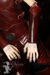 Chrom armor (Onyris) Tags: leather werewolf doll armor bjd loup soom chrom armure cuir garou