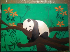 379002_2706903118827_1762931319_n (Erbaria) Tags: painting stencil panda acryl