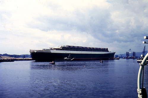 QE2 Launch River Clyde September 20th 1967