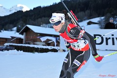 Emilia Yordanova (joménager) Tags: ski nikon passion f28 afs biathlon hautesavoie 1755 legrandbornand d300s