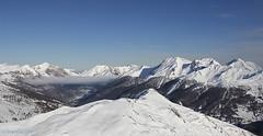 Clouds sit in the Alp valleys - 2 (RCoxxie) Tags: italy snow skiing milkyway sauzedoulx italyskiingsauzedec13