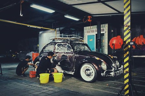 Finally after a huge restoration, the 1961 Bali Bug
