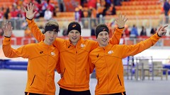 Netherlands wins first gold medal of 2014 Sochi Olympics (iBSSR who loves comments on his images) Tags: orange netherlands speed gold skating first medal mens wins olympics 5000 kramer dominance begins sochi the 2014 sweeps