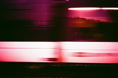 Thurbochrome. (Markus Moning) Tags: railroad motion film analog speed train 35mm schweiz xpro fuji crossing cross thurbo railway zug olympus sbb chrome processing bewegung 100 xa process expired fujichrome bahn moning astia 100f sanktgallen bahnbergang balgach bergang markusmoning thurbochrome