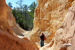 Providence Canyon Hiker (Seth Berry Photography) Tags: statepark park usa georgia floor state little south small bottom grand canyon hike east providence erosion soil trail clay land hiker walls southeast providencecanyon littlegrandcanyon providencecanyonstatepark sethberryphotography