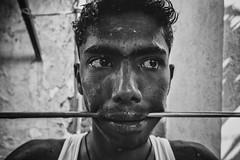 Tears of joy (Akilan T) Tags: people india costume pain god faith culture belief ritual hindu tamil tamilnadu sacrifice cwc indian festival make up village street