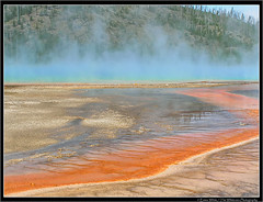 Grand Prismatic Spring #3 (Emma White ( ... somewhere ... )) Tags: park usa white hot water pool landscape vent spring pond photographer united central emma grand 2006 basin national yellowstonenationalpark yellowstone states wyoming geology np geyser midway eruption hotsprings prismatic geological