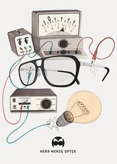 Herr Menig Optik - Physics (Philipp Zurmoehle) Tags: illustration pencil glasses drawing ad drawings advertisement brille nürnberg optician brillen zeichnung optik optiker philippzurmöhle philippzurmohle philippzurmoehle herrmenig