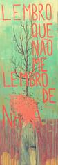 lembro que no me lembro (Efe Godoy) Tags: grande rosa quadro folha rvore menino nada pintura lembro mancha galho grandeformato acrilicamadeira
